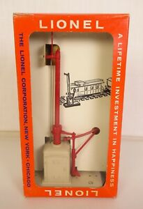 LIONEL #161 POSTWAR COLLECTOR GRADE MAIL PICKUP SET-NEW IN ORIGINAL BOX!