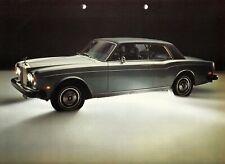 ROLLS ROYCE SILVER SHADOW Limousine Prospekt Brochure Deutschland 1975 AF