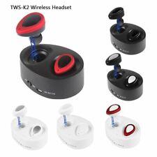 New listing Tws K2 Twins True Wireless Bluetooth 4.1 Stereo Headset In-Ear Earphones Earbuds