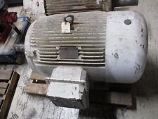 Worldwide Ac Motor Wweluc75 12 444t 75hp 1200rpm 230460796v 1852926535a