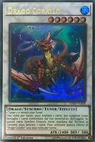 YU-GI-OH! LEHD-ITB38 Drago Corallo Ultra Rara 1° Ed ITA Yugioh