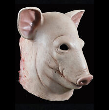 Bloody Pig Scary Animal Man Zombie Adult Latex Halloween Mask