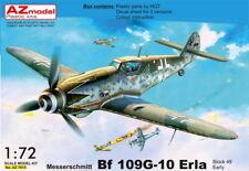 """AZ Models 1/72 Kit 7615 Messerschmitt Bf-109G-10 Erla """"Block 49 Early"""""""