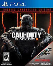 PS4 ACTION-CALL OF DUTY:BLACK OPS 3 ZOMBIE CHRONICLES ED  PS4 NEW