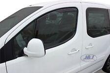 CITROEN BERLINGO 2 portes 2008-2014 Deflecteurs d'air Déflecteurs de vent 2pcs