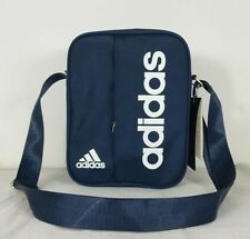 adidas performance linear small items organiser bag travel Satchel Navy