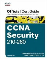 CCNA Security 210-260 Official Cert Guide Hardcover Book