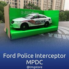 Welly Ford Police Interceptor Sedan, 1/24 District of Columbia Police