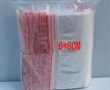 Grande Grip Seal plastica chiara poli sacchetti Richiudibili Zip Lock-Piccolo Medio