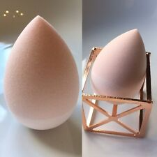 Popular Super Soft Beauty Makeup Sponge Silicone 2in1 Blender Pink In Teardrop