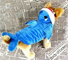 Halloween  Costume Blue Shark Clothes for Pet Dog, Cat or Puppy gift