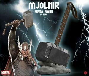 Mjolnir mega bank martello THOR 28cm Marvel Semic Gd03