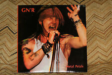 VERY RARE Guns N Roses GN'R Metal Petals double Vinyl  Record lp