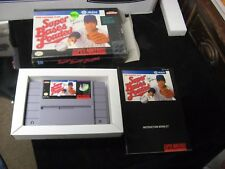 Super Nintendo SUPER BASES LOADED Video Game CIB Complete with Box Manual