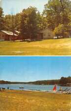 Walhalla Michigan De Morrows Modern Cottages Vintage Postcard K88527