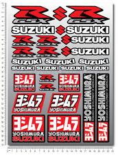 SUZUKI gsxr Yoshimura aufkleber set blatt 29 stickers decals gsx-r k5 k6 k7 k8