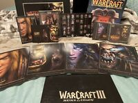 WarCraft III: Reign of Chaos, Collector's Edition, COMPLETE, See Description!