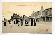 (Gu201-440) La Digue et le Casino, MALO LES BAINS, France c1910 VG