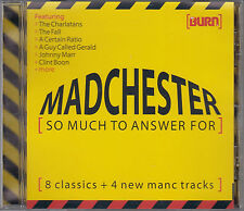 Madchester (So Much To Answer For) Promo CD Charlatans New FADS Johnny Marr ACR