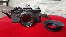 appareil Pentax M X + objectif  smc  pentax -m 1:1.7 50 mm