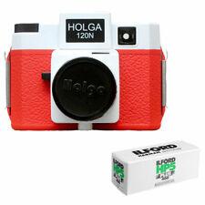 Holga 120N Medium Format Film Camera (Red/White) with Ilford Hp5 Plus Film