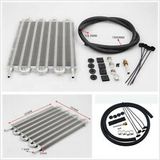 High Quality Aluminum 8 Row Remote Transmission Oil Cooler Manual Radiator Tool