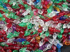 Starlight Twinkle Bulbs Ceramic Christmas Tree Lights 50 Small Pegs Vintage