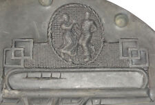 "Old 9"" Rubber Spin Casting Mold Art Deco Couple Dancing Placeholder Topper More!"