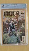 Immortal Hulk #7 CBCS 9.8 Alex Ross Cover!