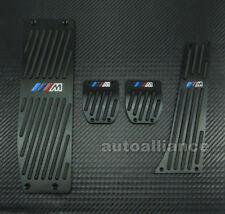 KIT PEDALES  PARA BMW , X1 M3 E39 E46 E87 E84 E90 E91 E92 aluminio Negro.