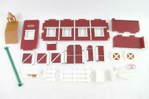 Breyer Reeves Red Barn Replacements Pieces Walls Windows Stable Riding Academy