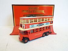 MATCHBOX moy Y-10 1934 AEC TROLLEYBUS DIDDLER 1:43 MIB (mb104)