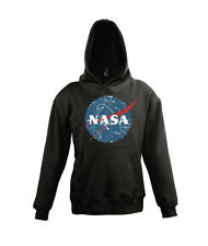 "Cooler Kinder Baby Hoodie Sweater ""NASA"" Vintage Astronaut Space Force"