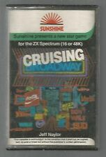 CRUISING ON BROADWAY - Sunshine - SINCLAIR ZX SPECTRUM CASSETTE GAME
