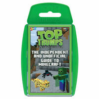 Minecraft Top Trumps Card Game The Independent and Unofficial Guide to Minecraft