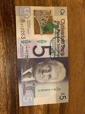 CLYDESDALE SCOTLAND 5 POUND Banknote, Scottish Banknotes, Circulated Single Note
