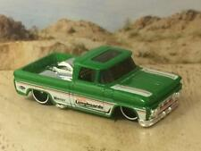 1962 62 Chevrolet Custom SLAMMED Hot Rod Surf Pick-Up Truck 1/64 Scale HTF U8