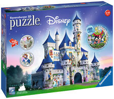 Ravensburger Disney Castle 3d Jigsaw Puzzle 216pcs Princess