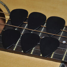 Wholesale Lots of 500pcs Black 0.71mm Medium Smooth Abs Guitar Picks Plectrums