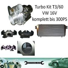Turbokit Umbau G-Lader VW 16V 1,8l 2,0l Golf 2 3 Passat Corrado
