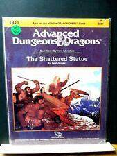 Z426)D&D AD&D TSR DQ1 THE SHATTERED STATUE MODULE paul jaquays NO;9221 1987