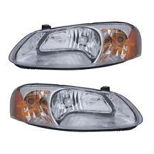 03-04 Dodge Stratus/03 Sebring Sedan Headlight Assembly Driver Passenger Pair