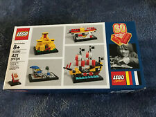 New Sealed LEGO 60 Years of the LEGO Brick 40290 Set 421Pcs Limited Ed Ship Fast
