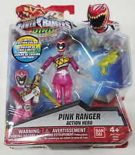 """New listing Bandai Power Rangers Dino Super Charge Limited Edition Pink 5"""" Scale Figure 2016"""