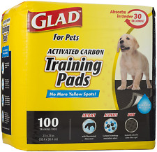 Charcoal Puppy Pads Pet Dog Attractant Potty Pee Training Urine Absorbent 100ct