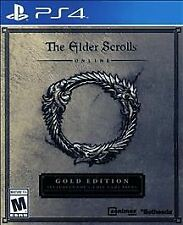 The Elder Scrolls Online Gold Edition Sony PlayStation 4 Video Game Complete PS4