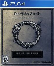 Elder Scrolls Online: Gold Edition PS4 (Sony PlayStation 4, 2016) New