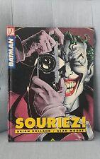 FUMETTO RARO FRANCESE BATMAN SOURIEZ BOLLAND MOORE COMICS USA 1989