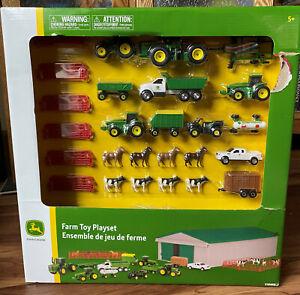 NIB John Deere Die-cast Farm Toy 70 Piece Value Playset John Deere Value Set