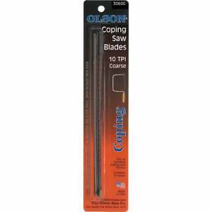 Olson 6-1/2 In. 10 TPI Coping Saw Blade (4-Pack) 30600  - 1 Each